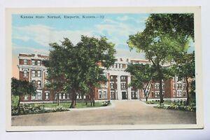 Old postcard KANSAS STATE NORMAL, EMPORIA, KANSAS