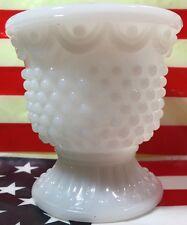 Vintage Milk Glass Hobnail Bowl