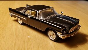 1957 Chrysler 300 Black Sedan ERTL Diecast Vintage Classic Muscle Car 1:43 Scale
