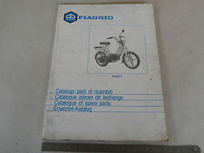 CATALOGO PARTI DI RICAMBIO BRAVO 3 1987 ORIGINALE PIAGGIO 64 PAG