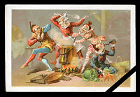 French Victorian Trade Card: Original Early 1900's Advertising France
