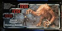 Star Wars 1983 Vintage Tri Logo Rancor Monster With Box (VGC)