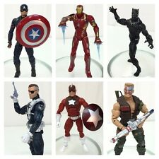 Marvel Legends SET OF 6 Civil War 2015~ Captain America~ Iron Man~ Black Panther