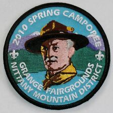 Juniata Valley Cncl (PA) Nittany Mtn Dist 2010 Spring Camporee Pocket Patch  BSA