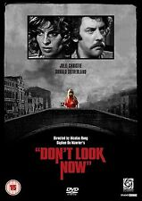 Don't Look Now 1 Disc Edition DVD Donald Sutherland UK Rele Brand New Sealed R2