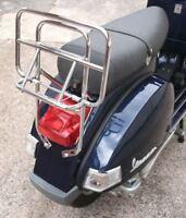 Vespa PX Rear Carrier Chrome Luggage Rack 125 200 LML