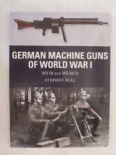 Osprey Weapon #47 German Machine Guns of World War I: MG 08 and MG 08/15