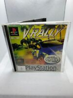 V-Rally platinum - PS1 - Complete With Instructions