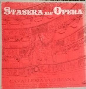 Mascagni – Cavalleria Rusticana Opera Completa - Double LP & Booklet -1966 Mint-