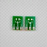 20pcs Double-Side SMD SOT23-3 to DIP SIP3 Adapter PCB Board DIY Converter F42A