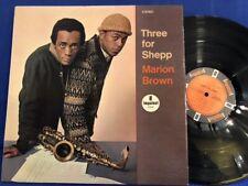 MARION BROWN THREE ARCHIE SHEPP IMPULSE A9139 BIEM ORIGINAL FRANCE LP NEAR MINT