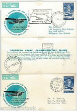 TEAL - SPECIAL FLIGHT COVER:  NEW ZEALAND / Australia 1958 Southern Cross Flight