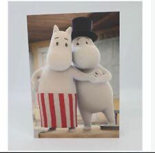 Moomin Greeting Card with Envelope Mamma & Pappa Putinki