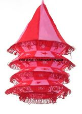Indian Vintage Lamp Shade Traditional Lightning Cotton Lamps Wall Decor Bohemian