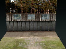 Noy's Miniatures 1/72 WWI Airfield Tarmac w/Backdrop (3 Sheets, Size: 310x219mm)