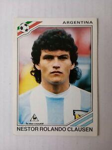 Panini World Cup Story 1990 - Nestor Rolando Clausen (Argentina) No. 163
