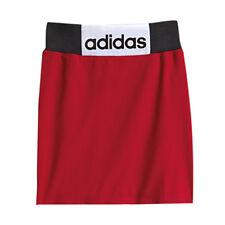 Adidas Originals Jeremy Scott Red Elasticized Cotton Boxing Skirt M63874 RW39