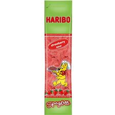 HARIBO Strawberry Sour Spaghetti 200g New from Germany