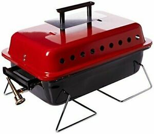 Lifestyle Portable Gas Barbecue With Lava Rock - Red (356956)
