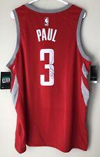 Chris Paul Autograph Houston Rockets Nike Signed NBA Swingman NBA Jersey STEINER