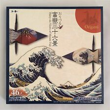 Japanese ORIGAMI Paper,Hokusai Thirty-six Views of Mt.Fuji,48 sheets in total