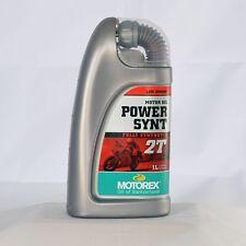 Motorex Power Synt 2T 1 Liter Flasche Öl Motoröl Motorenöl 2-Takt Kanister