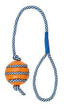 Balle caoutchouc naturel sur corde