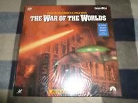 laserdisc NTSC - The war of the worlds - 2 disc