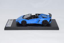 Miniature Lamborghini Aventador Blue Cabriolet SV LP750-4 1:43 Looksmart