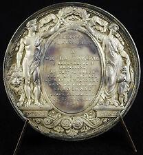 Médaille en argent à Ange-Marie de la Vergne capitaine 72e de ligne 1841 medal