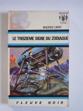 """FLEUVE NOIR ANTICIPATION N°379 -  Maurice LIMAT """"LE TREIZIEME SIGNE DU ZODIAQUE"""""""