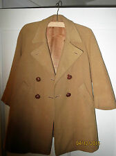 Tailored 1950s 100% Wool Vintage Coats & Jackets for Women