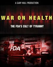 War On Health: The FDA's Cult of Tyranny + Gary Null's Premier Introduction DVDr