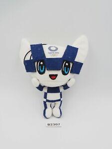 "Tokyo Japan B2307 Miraitowa Olympic 2020 Mascot  NOTAG Plush 5"" Toy Doll Japan"
