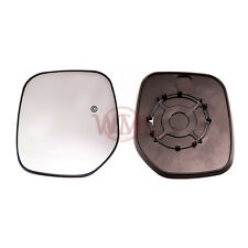 PEUGEOT PARTNER WING MIRROR GLASS SILVER,HEATED /& BASE LEFTHAND SIDE,1996-/>2007