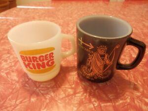 Anchor Hocking Fire King Mug BURGER KING Zodiac SAGITTARIUS ARCHER