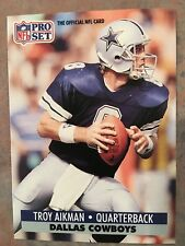 1991 Pro Set Football Card #128 Troy Aikman Dallas Cowboys NM/MT