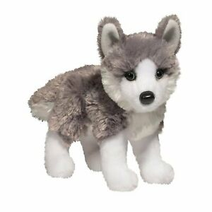 Douglas Nikita HUSKY Dog Plush Toy Stuffed Animal NEW