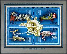Hungary 1974 SG#MS2885 UPU MNH M/S #D2591