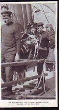 1921 - S BERNHARDT ARRIVEE A DOUVRES CHAISE PORTEURS