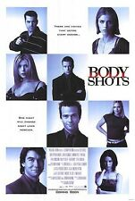 BODY SHOTS MOVIE POSTER ~ ORIGINAL 27x40 Amanda Peet Tara Reid Emily Procter