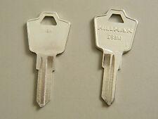 2 ESP Cabinet Lock Key Blanks- ES8M/1502M By Hillman - FREE code cutting