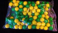 "Dubble Bubble Green & Yellow Theme 1"" Gumballs  6  Lbs"