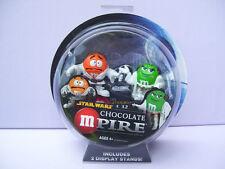 Star Wars M&M Chocolate MPire LUKE SKYWALKER and PRINCESS LEIA