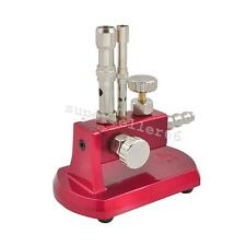 Dental Supplies Rotatable Gas Light Bunsen Burner Lab Double Tube Equipment-USA