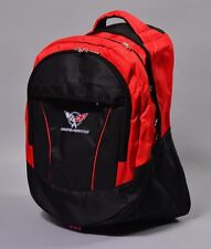 NEW CHEVROLET CORVETTE BLACK BACKPACK BAG