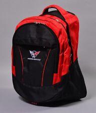 NEW CHEVROLET CORVETTE BLACK BACKPACK BAG