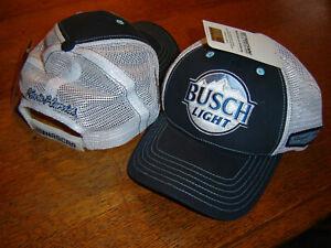 2021 KEVIN HARVICK #4 Busch Light SPONSOR Adjustable Mesh HAT NEW W/TAGS
