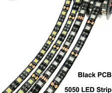 LED Strip 5050 Flexible Light Black And White PCB No Waterproof High Quality New