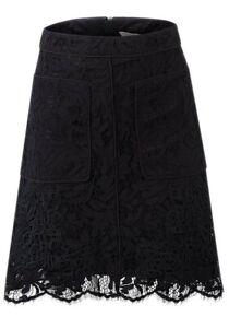 New Coast Stunning Womens Ladies Black Knee Length Skirt Size 8